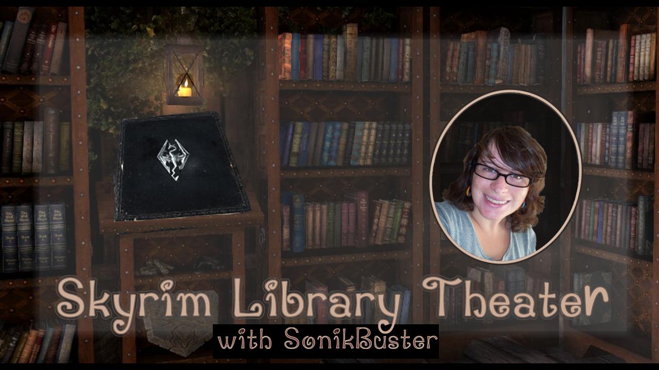 Skyrim Library Theater DBook