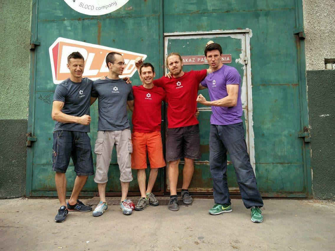 2016 IFSC EYC Route Setting Crew