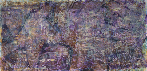 Uten tittel, 2014, Acrylic, Canvas, 100 x 50 cm