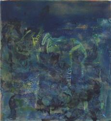 'thintharoo'2016, Acrylic, Canvas, 42 x 37 cm