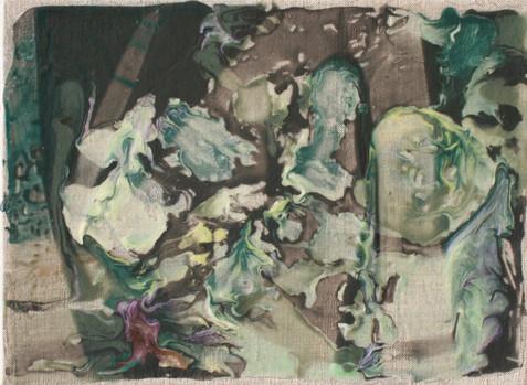 Uten Tittel, 2013, Acrylic, Canvas, 25 x 35 cm