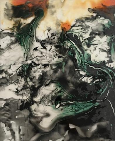 Playing, 2018, , Acrylic, Plexi, 30 x 25 cm