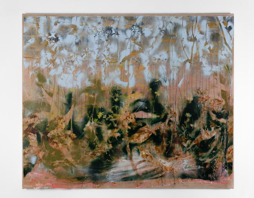 UNTITLED, 2019, acrylic on canvas, 95 x 115 cm, foto Andreas Dyrdal