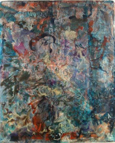 Uten Tittel, 2013, Acrylic, Canvas, 60 x 50 cm