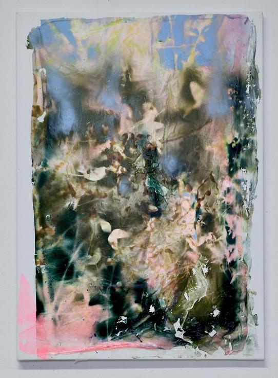 UNTITLED, 2019, acrylic on canvas, 70 x 50 cm