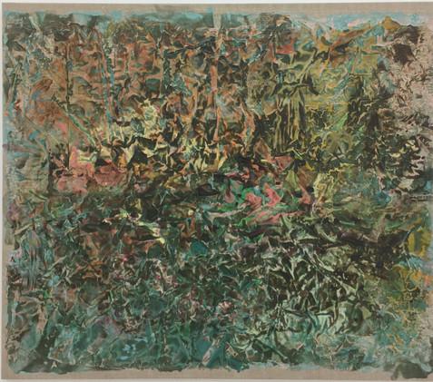 Hagen, (Garden), 2016,  Acrylic in medium, Canvas, 100 x 115 cm