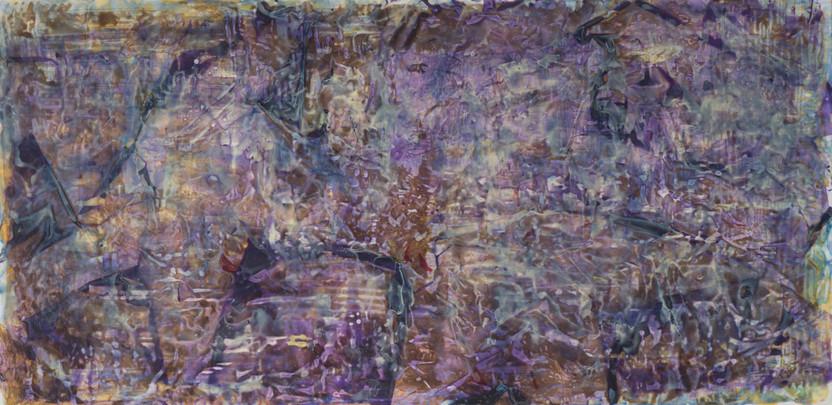UNTITLED, 2013, acrylic on canvas, 120 X 52 cm, foto: Andreas Dyrdal