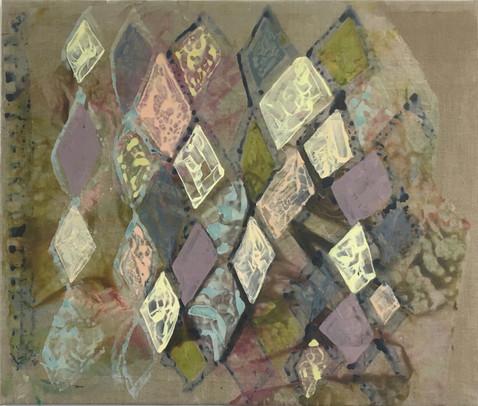Den Andre Siden, 2016, Acrylic, Canvas, 44 x 60 cm