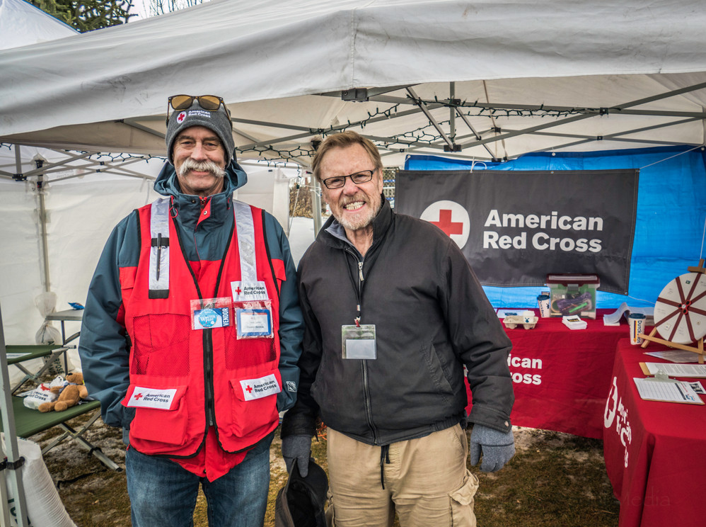American Red Cross at Oregon WinterFest