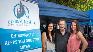 Eternal Health Chiropractic at Bend Summer Festival
