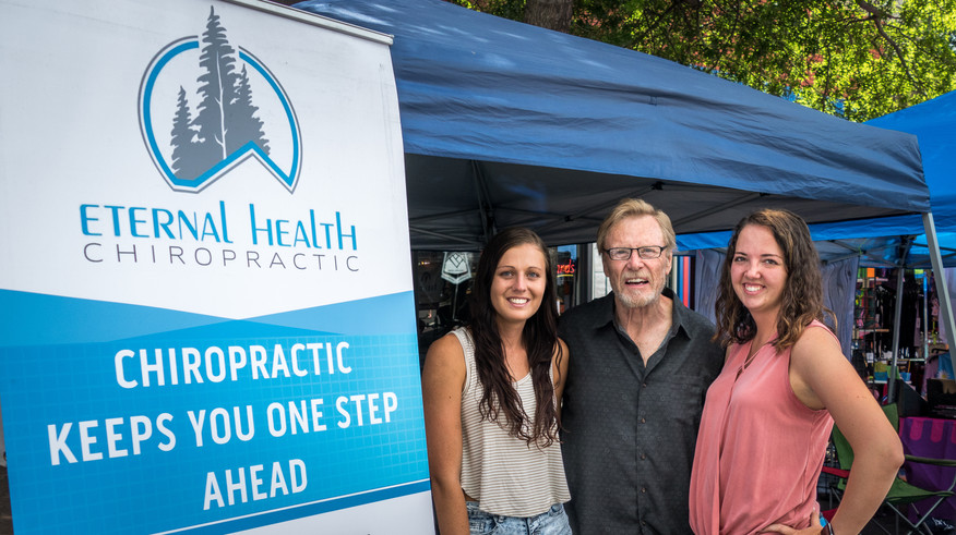 Eternal Health Chiropractic at Bend Summer Festival