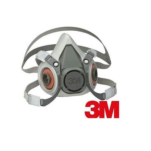 Respirador 3M Ref. 6200 para 2 filtros