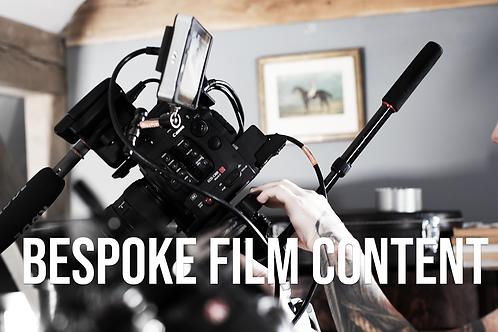 BESPOKE FILM SHOOT