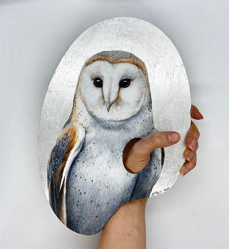 Nature is the True Artist Series (Barn Owl)