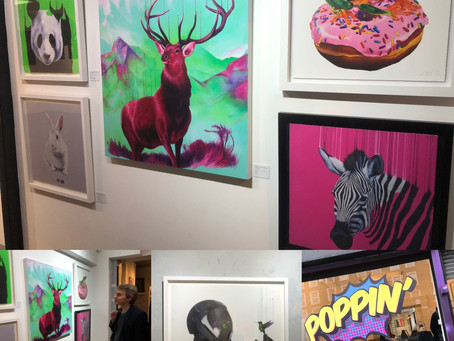 'Poppin' and 'East Art Fair' in Spitalfields