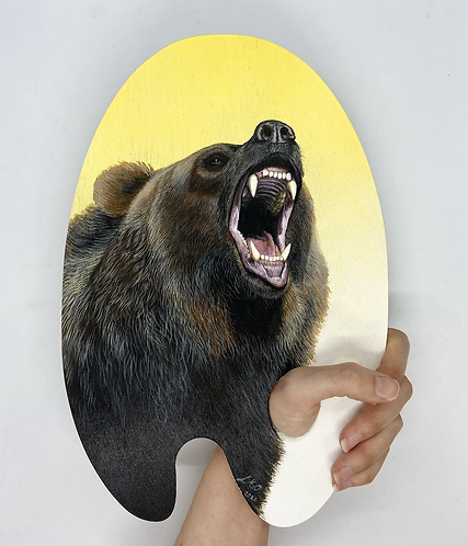 Nature is the True Artist Series - Grizzly Bear