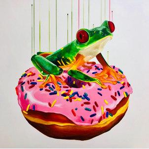 'Consume', 80x80cm, Louise McNaught.JPG