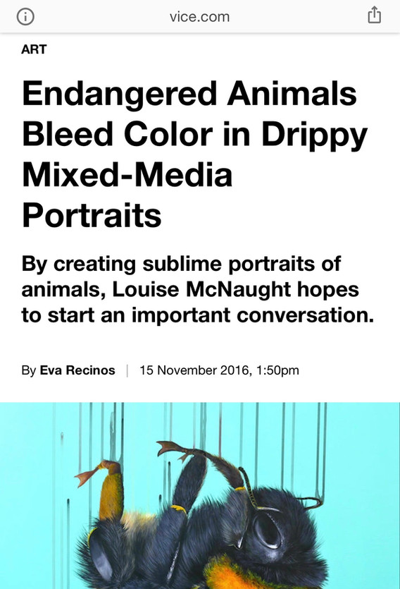 Louise McNaught on Vice (2016)