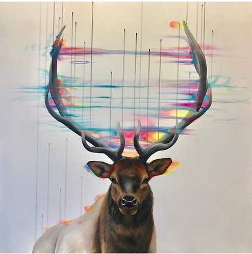 Stag Market (Dissolving the Ego) - SOLD