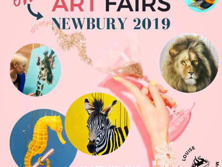 This time next Friday we will be at Contemporary Art Fairs at Newbury Racecourse!