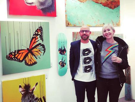 Affordable Art Fair in Hampstead and Contemporary Art Fair in Newbury!