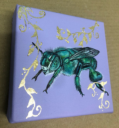 Metallic Green Bee (A-Z Series)