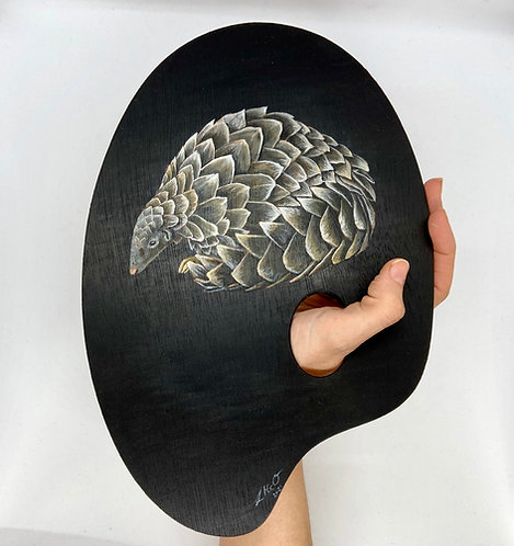 Nature is the True Artist Series - Pangolin