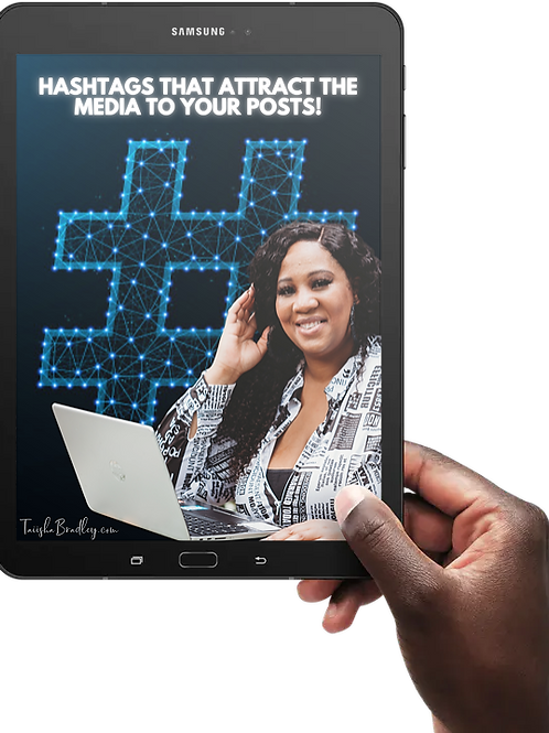 Hashtags that Attract the Media to Your Posts!