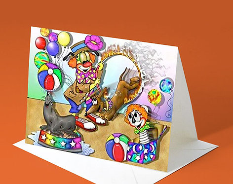 Invitation Card (Buddy the Clown)