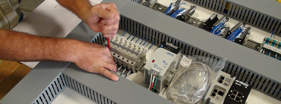 Installing a component on a system control panel