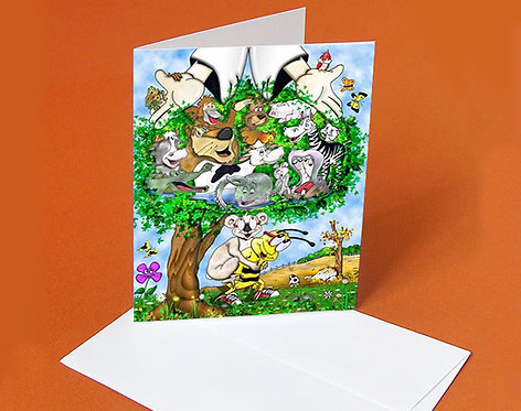 Religious Card (Buddy & the Friendship Tree)