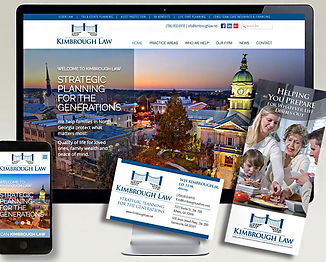 marketing collateral & website