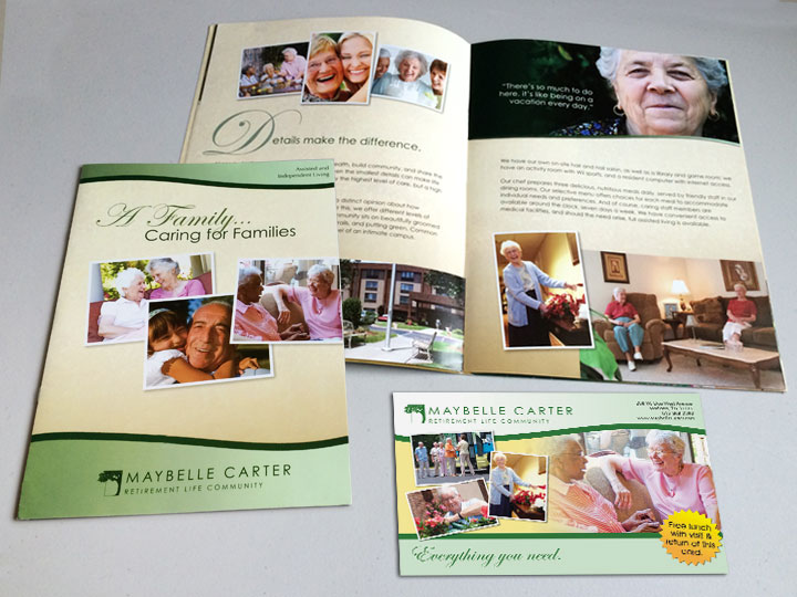 Brochure & Postcard Design