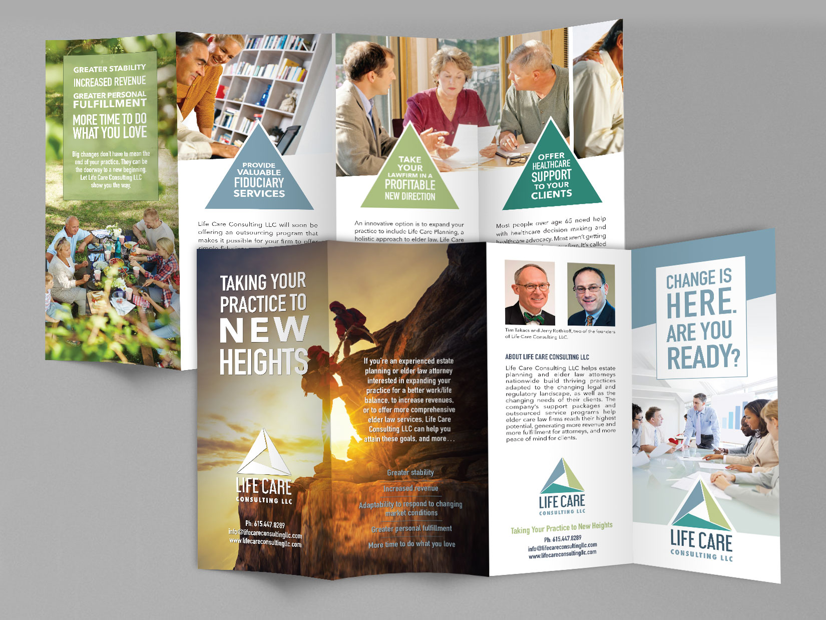 Quadfold Brochure Design