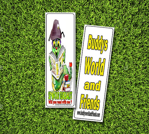 Bookmark (Buddy's World & Friends)