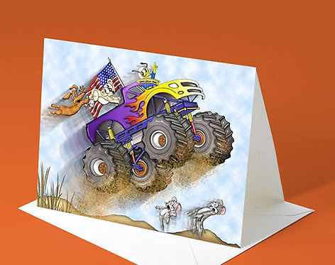 Birthday Card (Monster Truck)