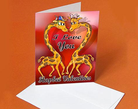 Valentine Card (Stanley's Valentine)