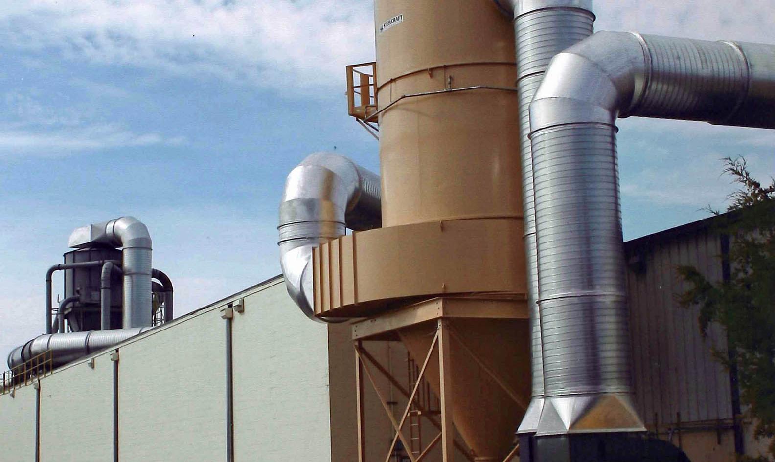 Exterior filter unit
