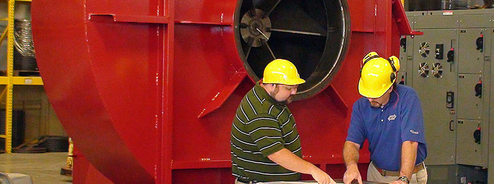 G.F. Puhl delivers the industry's quickest turnaround on replacement blowers and fans