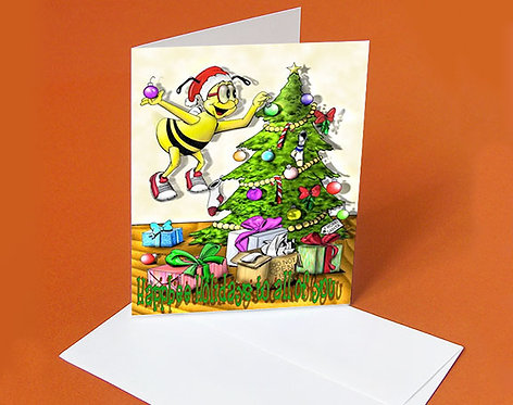 Christmas Card (Merry Christmas Buddy)