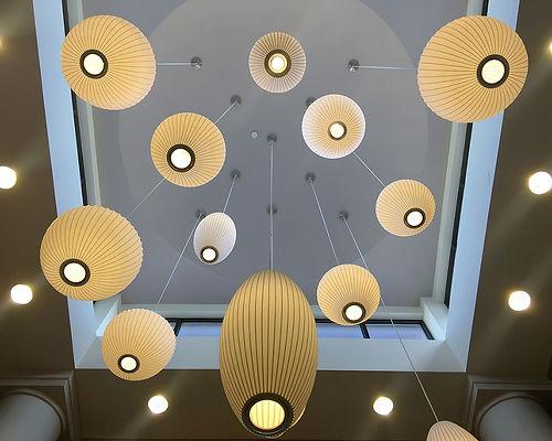 Lobby at Hilton Garden Inn - Lewisville, TX. ©Creative Instinct - Gwen Canfield.