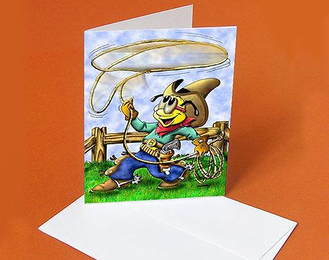 Invitation Card (Buddy the Cowboy)