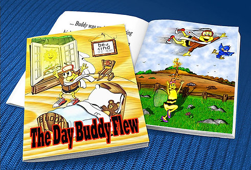 The Day Buddy Flew (paperback)