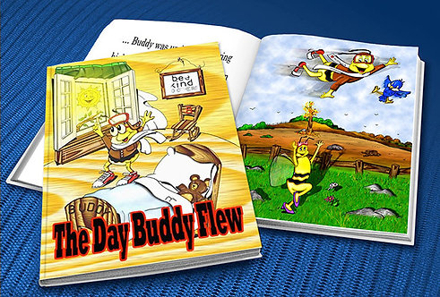 The Day Buddy Flew (hardcover)
