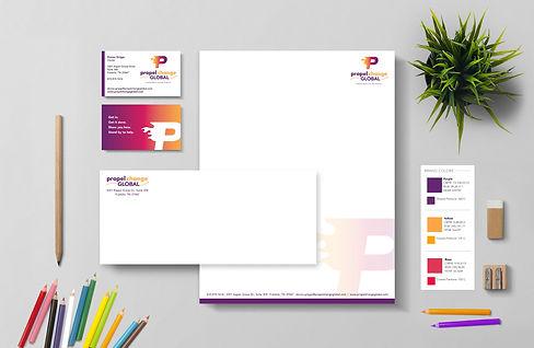 Logo Design, Business Card Design, Stationery Design