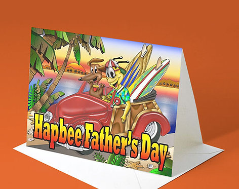 Father's Day Card (Hapbee Father's Day)