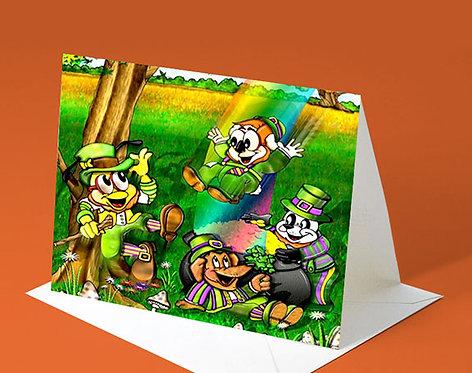 Saint Patrick's Day Card (Leprechaun Buddy)