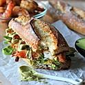 Shrimp Avocado Sandwich