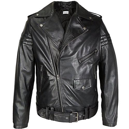 RIPD Art Wear Moto Assymetric Leather Jacket