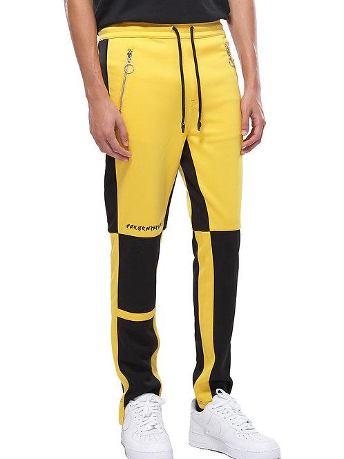 RIPD Art Wear ColorBlock Track Pants - Yellow